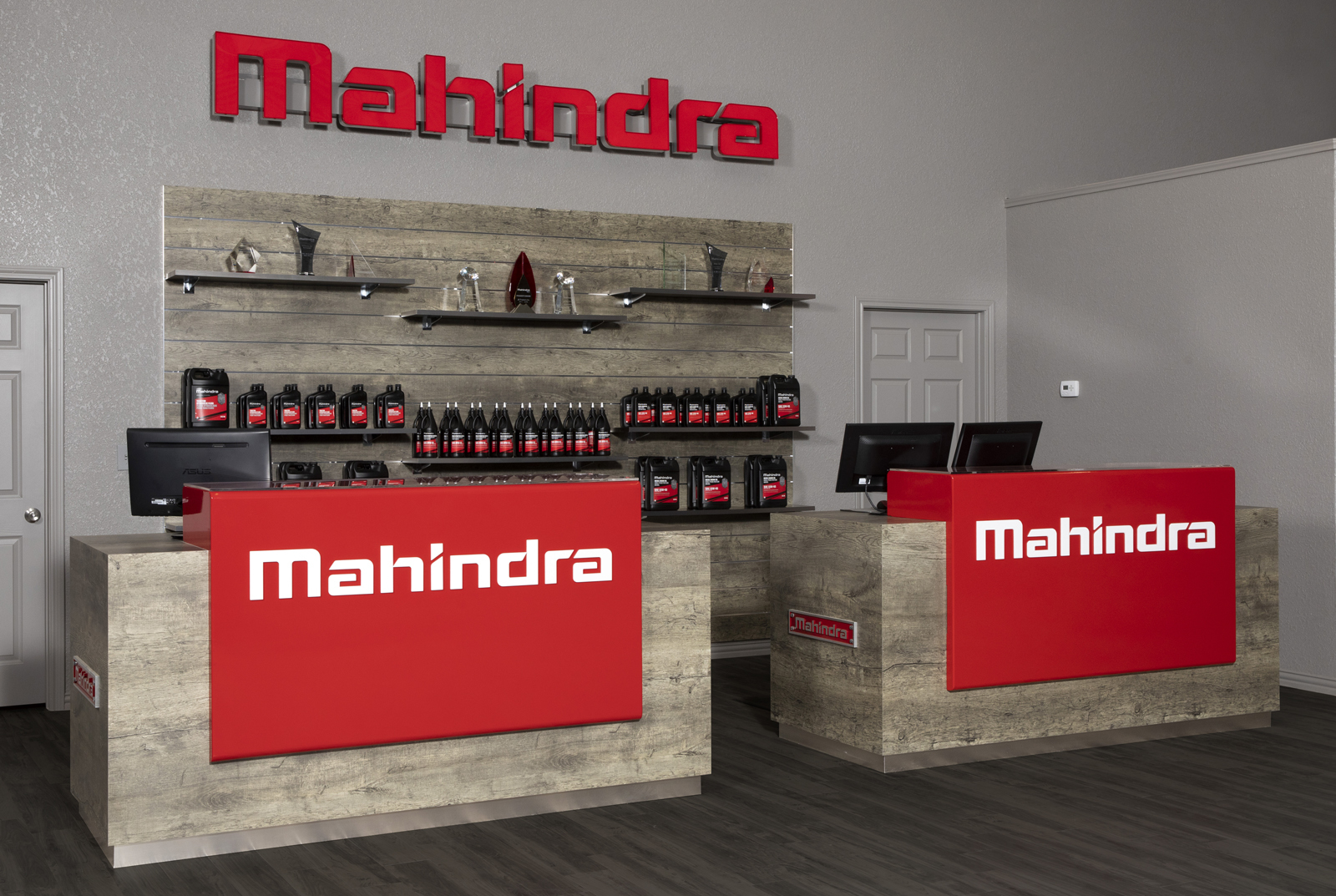 Mahindra Parts Area